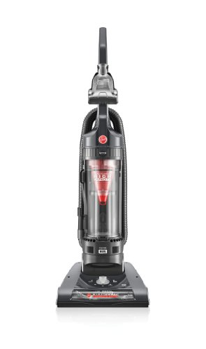 - Hoover WindTunnel 2 High Capacity Bagless Corded Upright Vacuum UH70801PC, Metallic