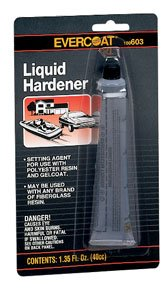 - Fiberglass Evercoat Liquid Hardener