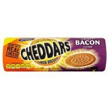 McVitie's Baked Cheddars Cheese Biscuits Crispy Bacon Flavour 150G