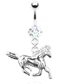 Horse Belly Ring - 2