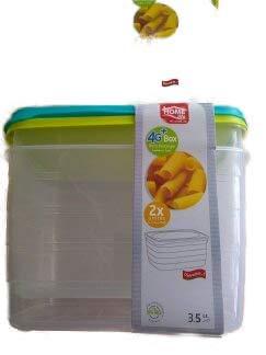 Home Life recinto de tartera – rectangular 3,5 litros – para ...