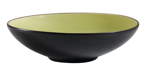 CAC China 666-39-G Japanese Style 9-Inch Golden Green Salad Bowl, Box of 12 by CAC China