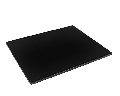 Heritage, Black Ceramic Pizza Stone 16 in. x 13 in- Baking Stones for Oven, Grill, BBQ- Non Stain