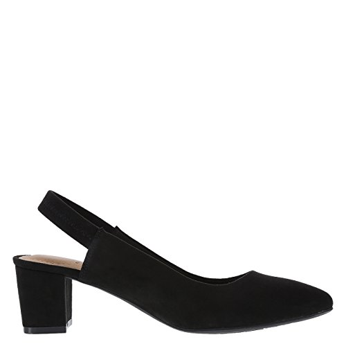 Image of dexflex Comfort Black Suede Women's Stevie Sling 9.5 Regular