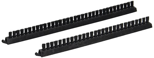 Eureka 52264 Brush Strip, 16 Inch VGI Pair Black, 16