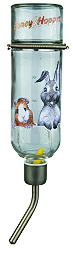 Trixie Honey and Hopper Glass Water Bottle