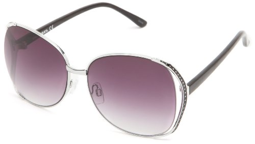 union-bay-u490-round-sunglassessilver-black62-mm