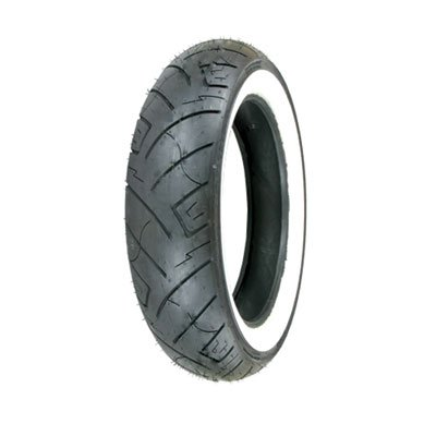 150/80B-16 (77H) Shinko 777 H.D. Rear Motorcycle Tire White Wall for Harley-Davidson Sportster 1200 Forty-Eight XL1200X 2010-2018 (Harley Sportster Tires)