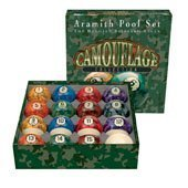 Aramith Camouflage Collection Billiard Ball Set (Pooldawg Billiards Balls)