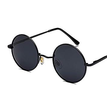 ZJMIYJ Gafas De Sol Steampunk Redonda Gafas De Sol ...