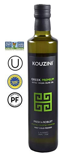 Kouzini Extra Virgin Greek Olive Oil | First Cold Pressed | Single Origin | NONGMO | Family Owned ()