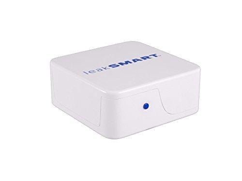 Price comparison product image Water Leak Detection System Hub by leakSMART,  Smart Hub Links Sensors,  Shut-Off Valve and You (Renewed)