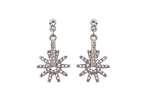 - Western Cowgirl Jewelry Spur/Rowel Crystal Post Earrings