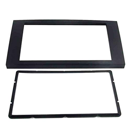 Tralntion 06-On 2 DIN Radio Fascia Plate Panel Replacement for Ford Focus 2006 Transit Fitting Audio Frame Dash Mount DVD Player