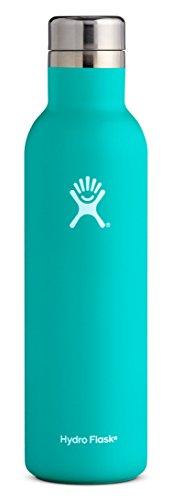 Hydro Flask 25 oz Wine Bottle | Stainless Steel & Vacuum Insulated | Leak Proof Cap | Mint