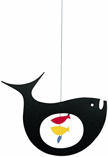Flensted Mobiles Expecting Fish Hanging Mobile - 10 Inches Plastic by Flensted Mobiles