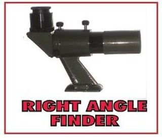 Apollo 6x30 Right Angle Finder Scope for Telescopes with Universal Mount