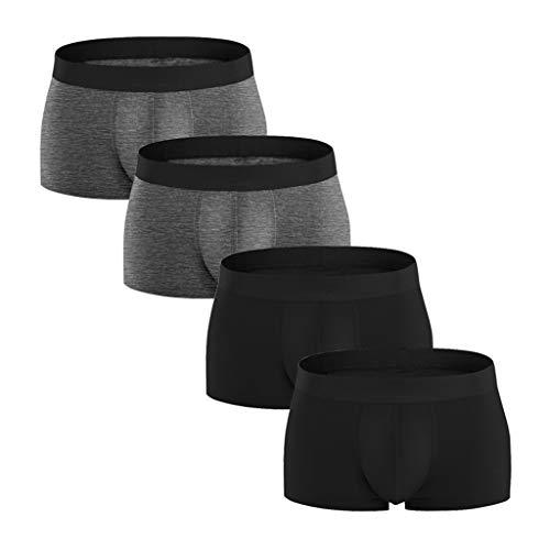 Mysky Men's Popular Plus Size Comfortable 95% Cotton 27er Pack Underwear Male Casual Solid Color Briefs Underpants White (Tie Dye Teardrop)