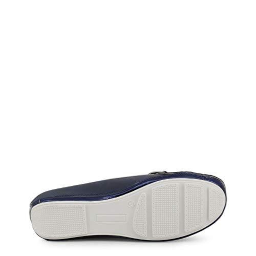 Femmes Bleus Basses 5580 Biagiotti Chaussures Mocassins Laura Hxp8E