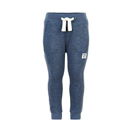 Minymo Sweatpants Slub bering sea 104