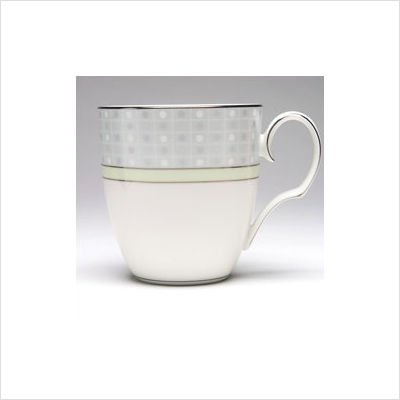 - Noritake Aria Platinum Green Mug Cup