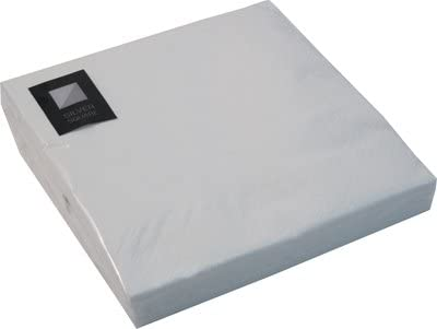 200 LUXURY 3 PLY WHITE PAPER NAPKINS 33cm x 33cm Ideal for weddings parties christenings bbqs etc FREE DELIVERY