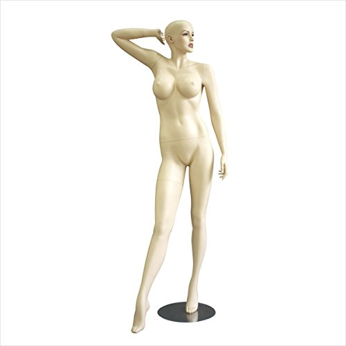 Busty Full Body Female Mannequins Women Fashion Clothes Garment Retail Display Fleshtone New by Bentley's Display