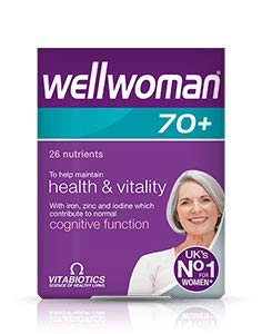 Wellwoman Tablets 70 Plus - Pack of 30 Tablets by Wellwoman
