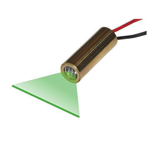 Quarton Laser Module VLM-520-28 LPT Green Laser Line Generator (ECONOMICAL LINE Laser) by Quarton (Image #3)