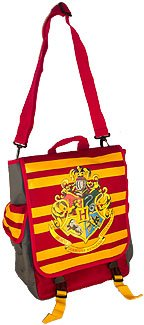 Harry Potter Hogwarts Hybrid Red Messenger Bag