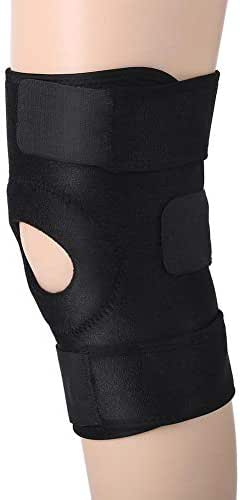 Pangding Knee Brace Support, Adjustable Breathable Hook and Loop Straps Compression Sleeve