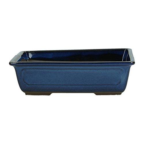 Crespi Bonsai V430/3 Vaso, Blu, 24.8x17.2x6.5 cm