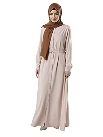 Anaya Abaya For Women - Pink