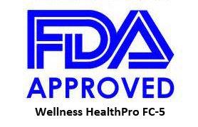 Wellness HealthPro FC-5 Countertop Wireless Toothbrush UV Sanitizer (Orange)