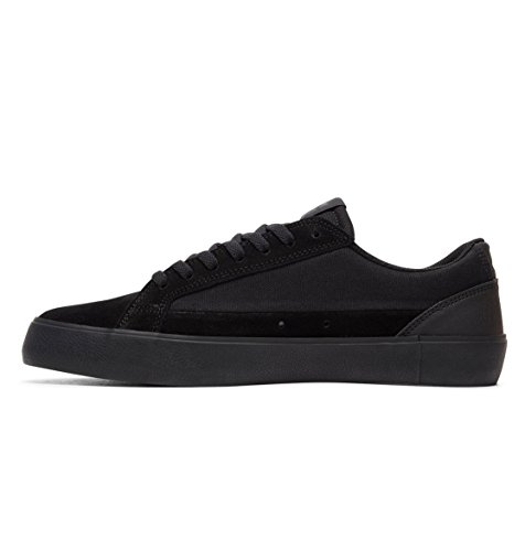 Dc Mænds Lynnfield S Skate Sneakers Sort / Sort / Sort CfJNTY36