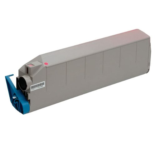 C9400 Toner Magenta (INKUTEN Okidata C9200/C9400 Series Replacement High Yield Magenta 41515206 Laser Toner Cartridge)