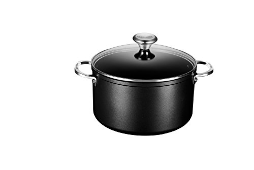 Le Creuset of America Toughened NonStick Stockpot with Lid, 6 1/3 quart