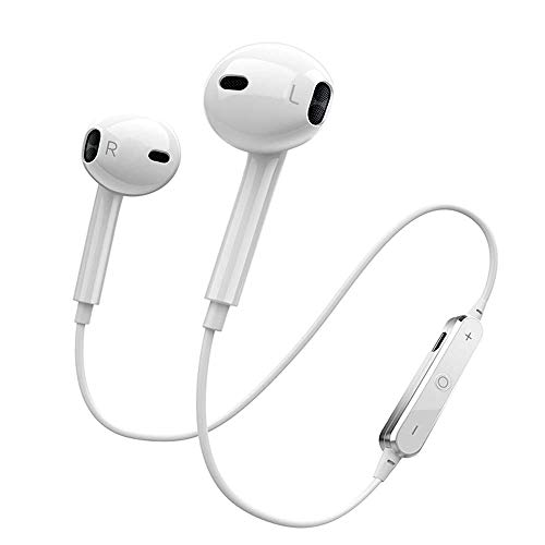 (Wireless Bluetooth Headphones,Wireless Earbuds Sport Earphones Bluetooth 4.1, HiFi Bass Stereo Sweatproof Earbuds w/Mic, Noise Cancelling Headset with Stereo & Anti-Interference for)