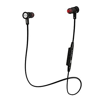 "SNEER ""iSport"" Series HBS-801 Premium 2014 Newest Mini Wireless Bluetooth Headset Stereo Sports/Running & Gym/Exercise Bluetooth Earbuds Headphones Headsets w/Microphone for Iphone 6 5S 5C 4S 4, Ipad 2 3 4 New iPad,iPad Air Ipod, Android, Samsung Galaxy S"