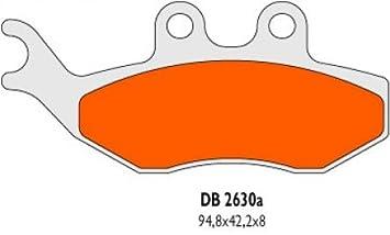 Bremsbel/äge Delta Braking Sinter DB2630RDN f/ür YAMAHA 50 DT X Baujahr 04-08 Vorne