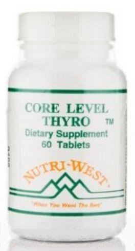 Nutri-West - Core Level Thyro - 60