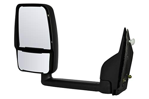 Driver Side Left Mirror Manual Non-Heated Foldaway for 2003-2011 Chevy Express & GMC Savana 1500, 2500, 3500 GM1320426