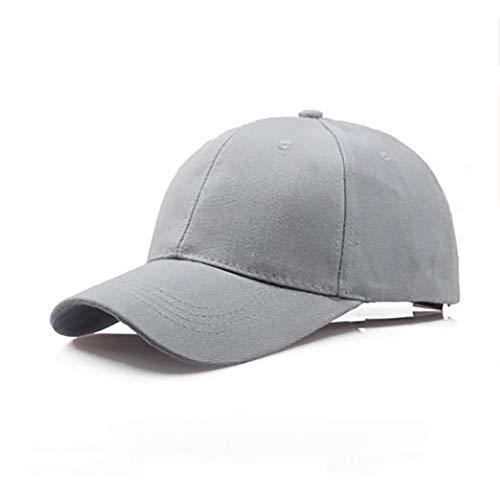 Unisex Polo Baseball Hat,Crytech Cotton Classic Plain Adjustable Ballcap Low Profile Dad Cap Sun Visor Hat for Women Men Outdoor Running Cycling Hiking Golf (Gray)