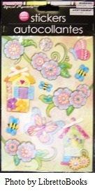 3d Handmade Scrapbooking Stickers - 7