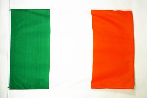 BANDERA de IRLANDA 90x60cm - BANDERA IRLANDESA 60 x 90 cm - AZ FLAG