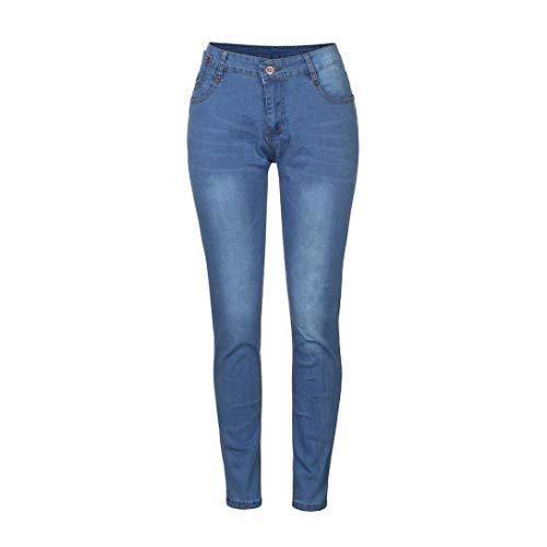 Stretch Da Blau Uomo Slim Comode Pants Glich Pantaloni Solid Color Fit Jeans Fashion Motociclista Skinny Aderenti Taglie Abiti q8CwwF