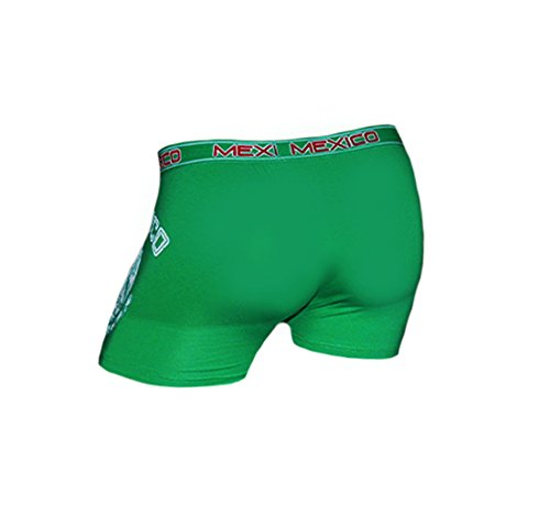 Amazon.com : New Sexy Mens Mexico Underwear Boxers Country Flag World Cup Soccer Futbol Size S : Pet Supplies
