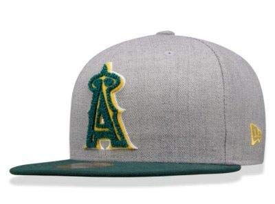 c761a8817c6e9 BONE 5950 LOS ANGELES ANGELS MLB ABA RETA CINZA NEW ERA  Amazon.com ...