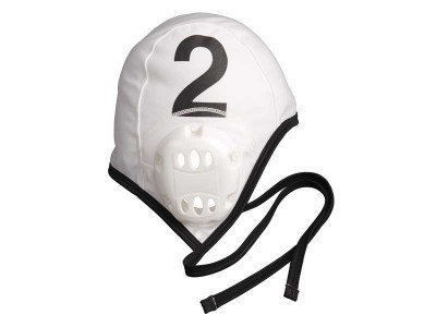 FINIS Adult Water Polo Plastic Cap Extension Set, White