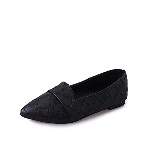 Scarpe punta da fondo profondo scarpe five casual poco piatto da donna Thirty donna a casual semplice wqUTI1aq